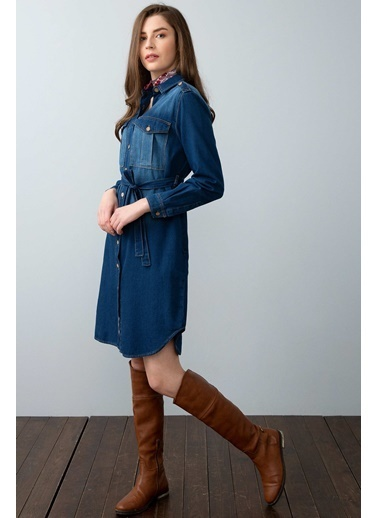 U.S.Polo Assn. Elbise Lacivert